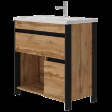 Vanity unit Bronx Brx-80 Wotan Oak