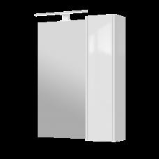 Зеркальный шкаф Bronx BrxMC-65 белый