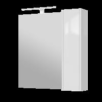 Зеркальный шкаф Bronx BrxMC-80 белый
