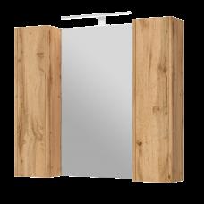Mirror cabinet Bronx BrxMC-90 Wotan Oak
