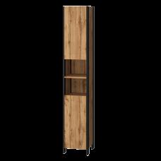Tall storage unit Bronx BrxP-190 Wotan Oak