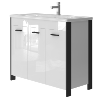 Vanity unit Brooklyn Br-100 Black