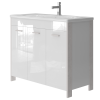 Vanity unit Brooklyn Br-100 White