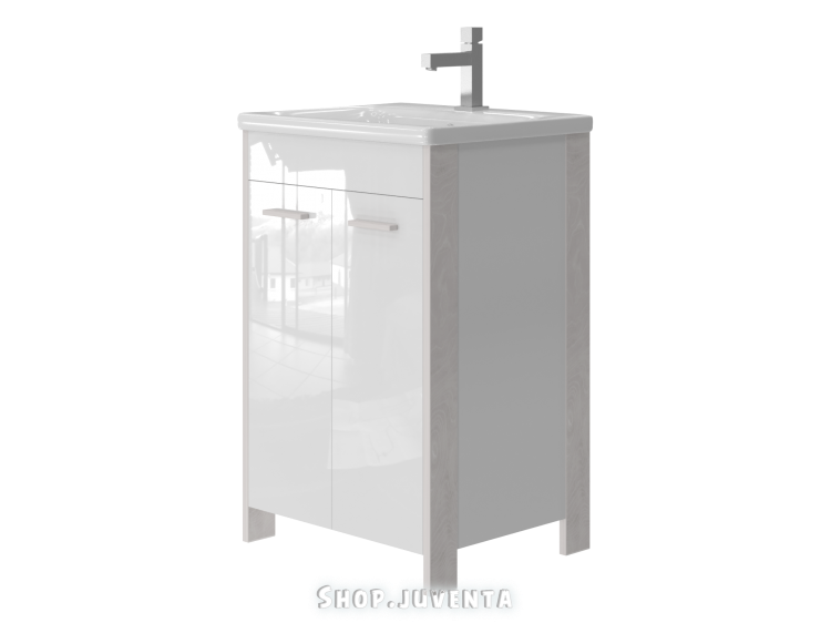 Vanity unit Brooklyn Br-55 White