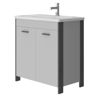 Vanity unit Brooklyn Br-80 Grey