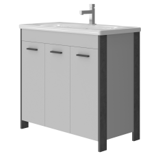 Vanity unit Brooklyn Br-90 Grey
