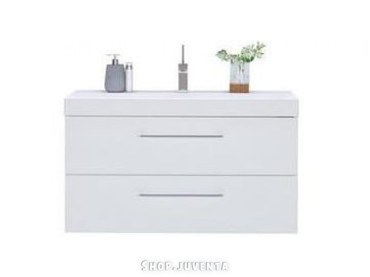 Vanity unit Gloss-100 White