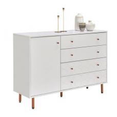 Chest of drawers KIM 04610015/01 White