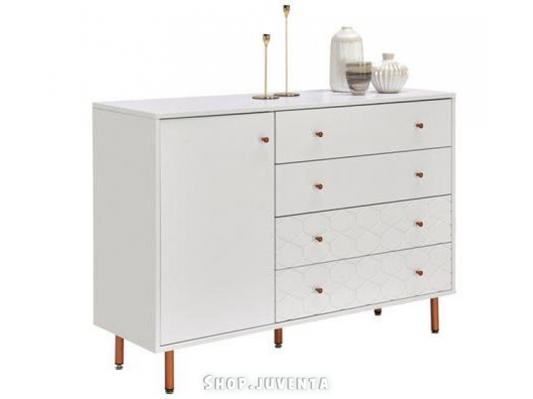Chest of drawers KIM 04610015/01 White