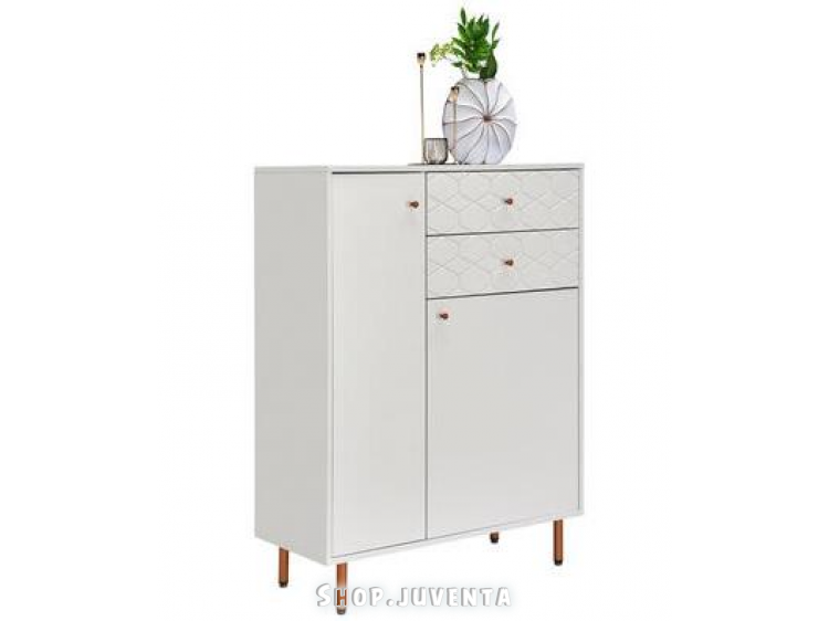 Chest of drawers KIM 04610015/02 White