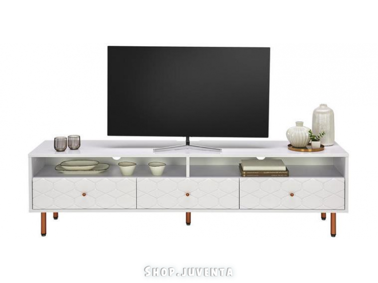 TV stand KIM 04610015/03 White