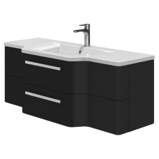 Vanity unit Levanto Lv-128 Black