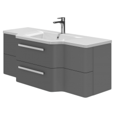 Vanity unit Levanto Lv-128 Grey