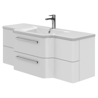 Vanity unit Levanto Lv-128 White
