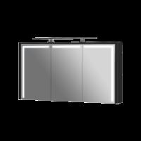 Дзеркальна шафа Levanto LvM-128 чорна