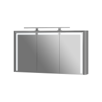 Mirror cabinet Levanto LvM-128 Grey