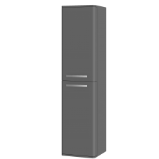 Tall storage unit Levanto LvP-170 Grey