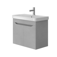 Vanity unit Livorno Lvr-70 Structural Grey