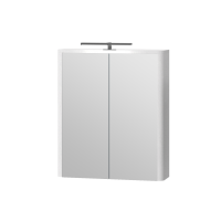 Зеркальный шкаф Livorno LvrMC-60 структурный белый
