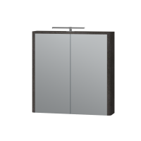 Зеркальный шкаф Livorno LvrMC-70 структурный камень