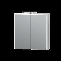 Зеркальный шкаф Livorno LvrMC-70 структурный белый