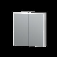 Зеркальный шкаф Livorno LvrMC-70 белый