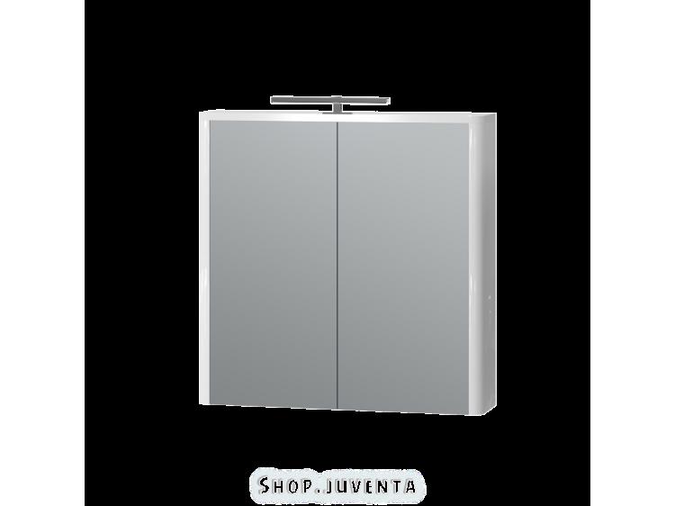 Дзеркальна шафа Livorno LvrMC-70 біла
