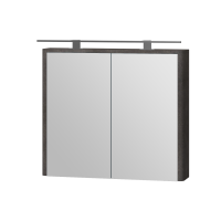 Зеркальный шкаф Livorno LvrMC-80 структурный камень