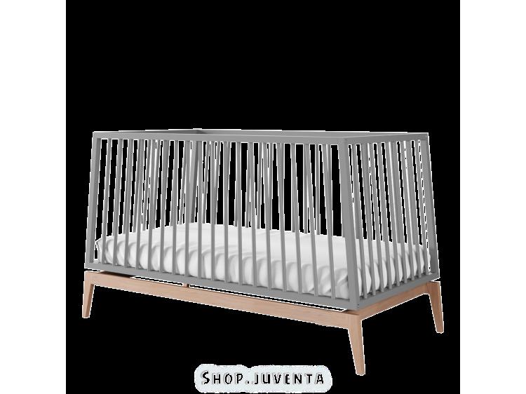 Baby bed Leander Luna 140 Grey
