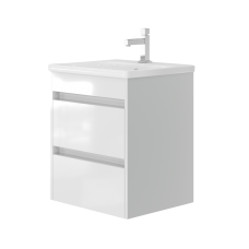 Vanity unit Luton Lt-55 Wall-Mounted White