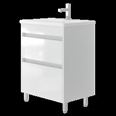 Vanity unit Luton Lt-65 Floor-Standing White