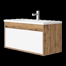 Vanity unit Malta Mlt-100 Wotan Oak