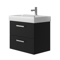 Vanity unit Manhattan Mnh-70 Black