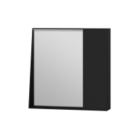 Mirror cabinet Manhattan MnhMC-70 Black