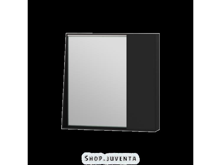 Зеркальный шкаф Manhattan MnhMC-70 черный