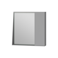 Mirror cabinet Manhattan MnhMC-70 Grey
