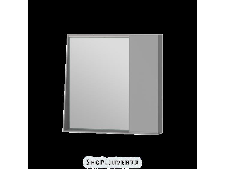 Зеркальный шкаф Manhattan MnhMC-70 серый