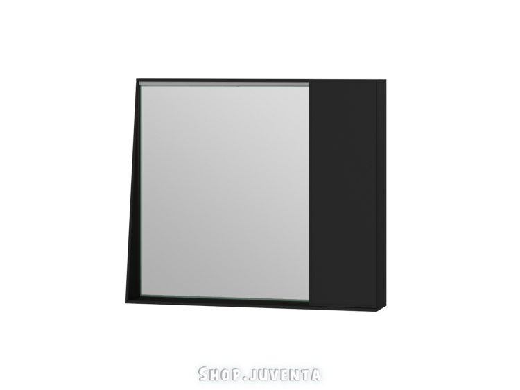Mirror cabinet Manhattan MnhMC-80 Black