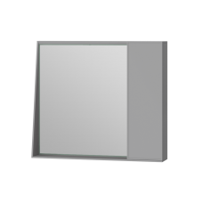 Mirror cabinet Manhattan MnhMC-80 Grey