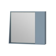 Mirror cabinet Manhattan MnhMC-80 Light Blue