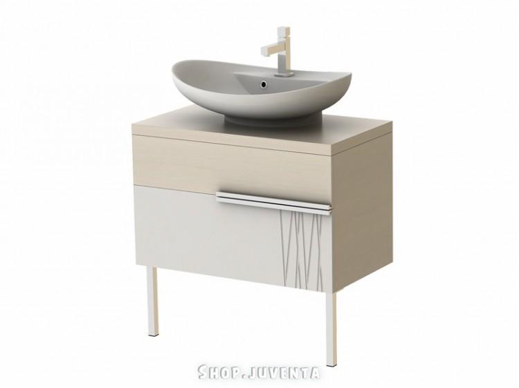 Vanity unit Matrix Mx-75 Cream-Bambook