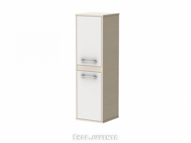 Tall storage unit Modena MdP-100 Woodline Cream