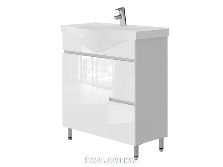 Vanity unit Monika M4-75 White
