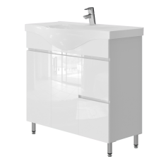 Vanity unit Monika M4-87 White