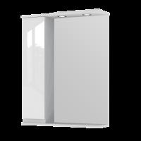 Зеркальный шкаф Monika MMC2-65 левый белый