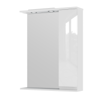 Mirror cabinet Monika MMC2-65 Right White