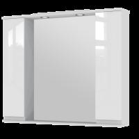 Зеркальный шкаф Monika MMC3-100 белый