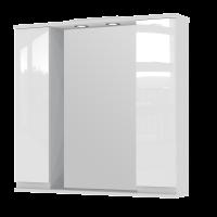 Зеркальный шкаф Monika MMC3-87 белый