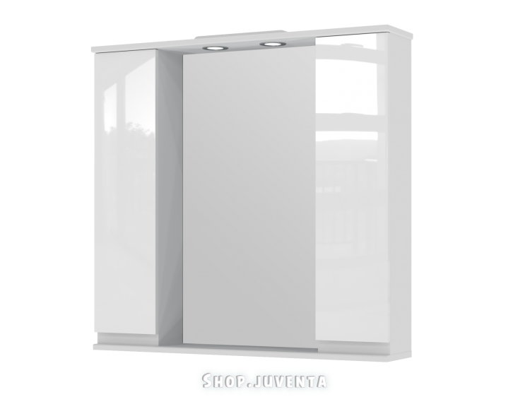 Mirror cabinet Monika MMC3-87 White