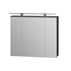 Дзеркальна шафа Oscar OscMC-80 графіт